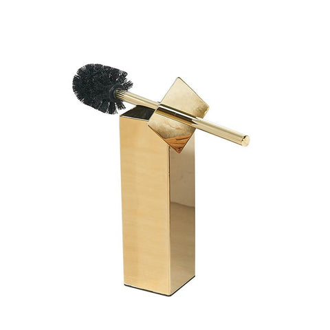 Brosse WC Or