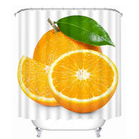 Rideau De Douche Orange