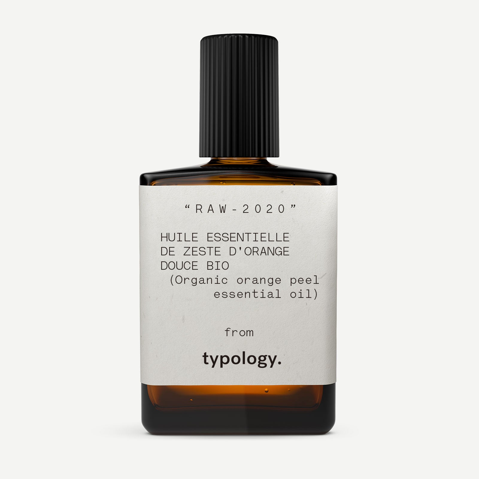 Huile essentielle d'orange bio de 10ml de face