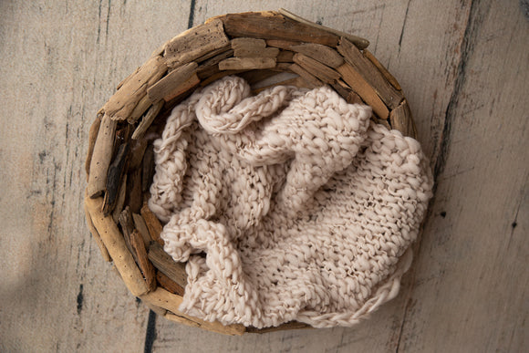 Chunky knit layer - Beige