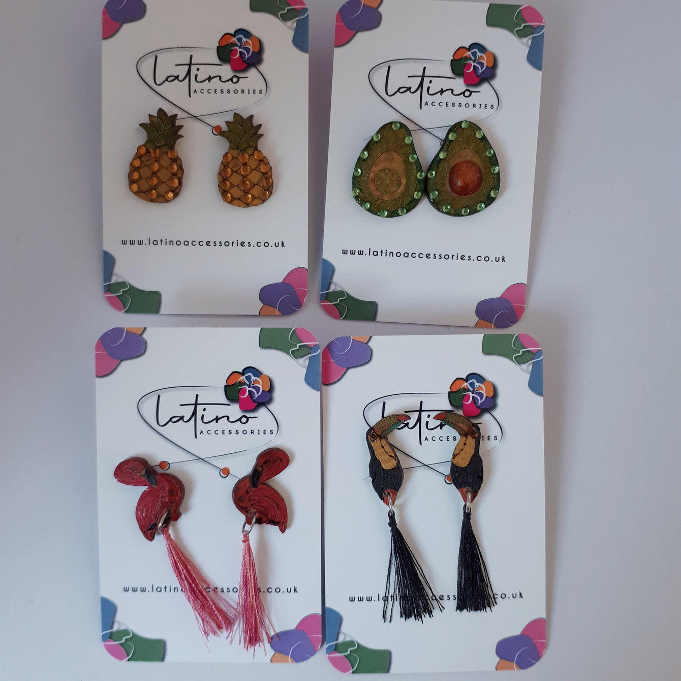 Green Avocado Earrings