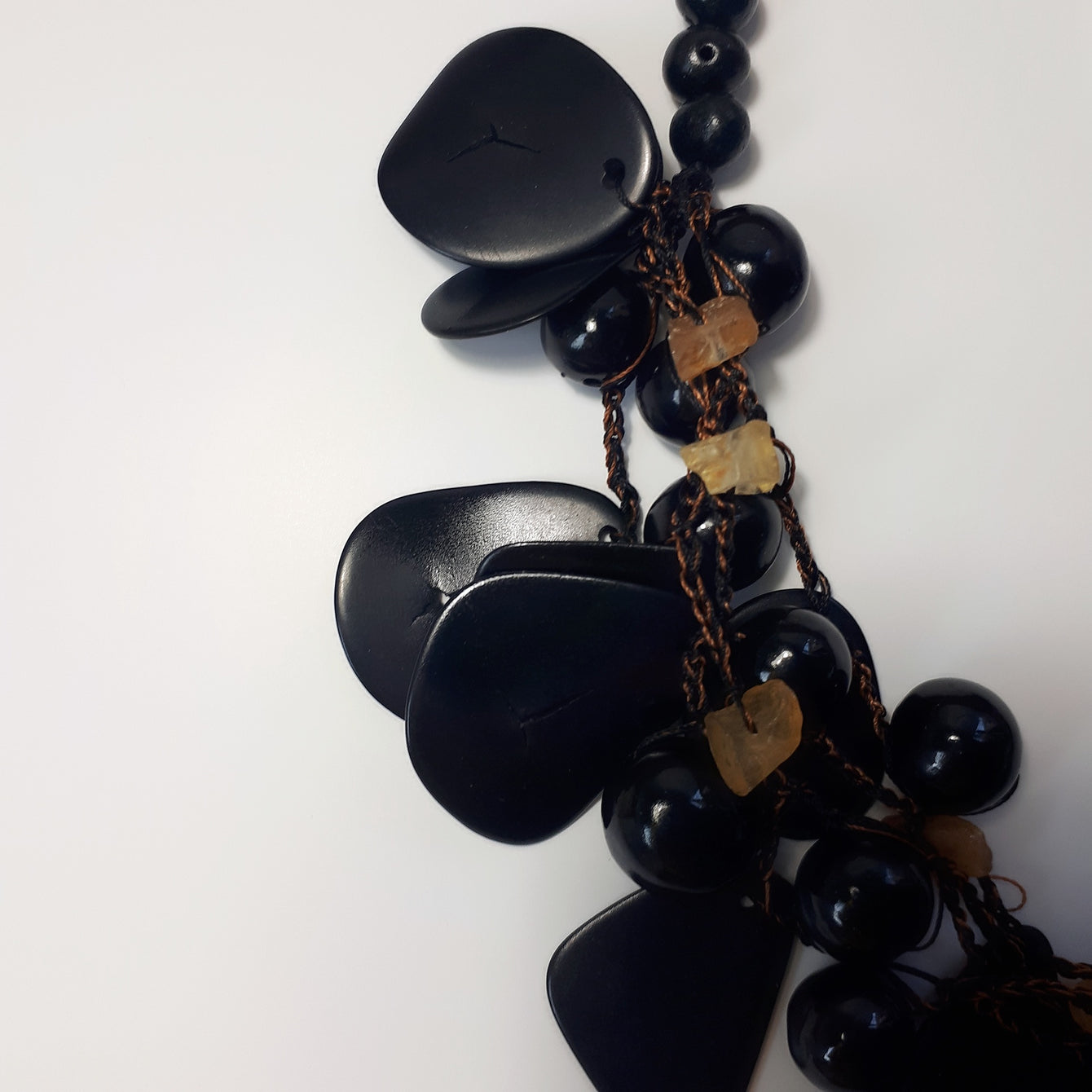 Black Tagua Necklace