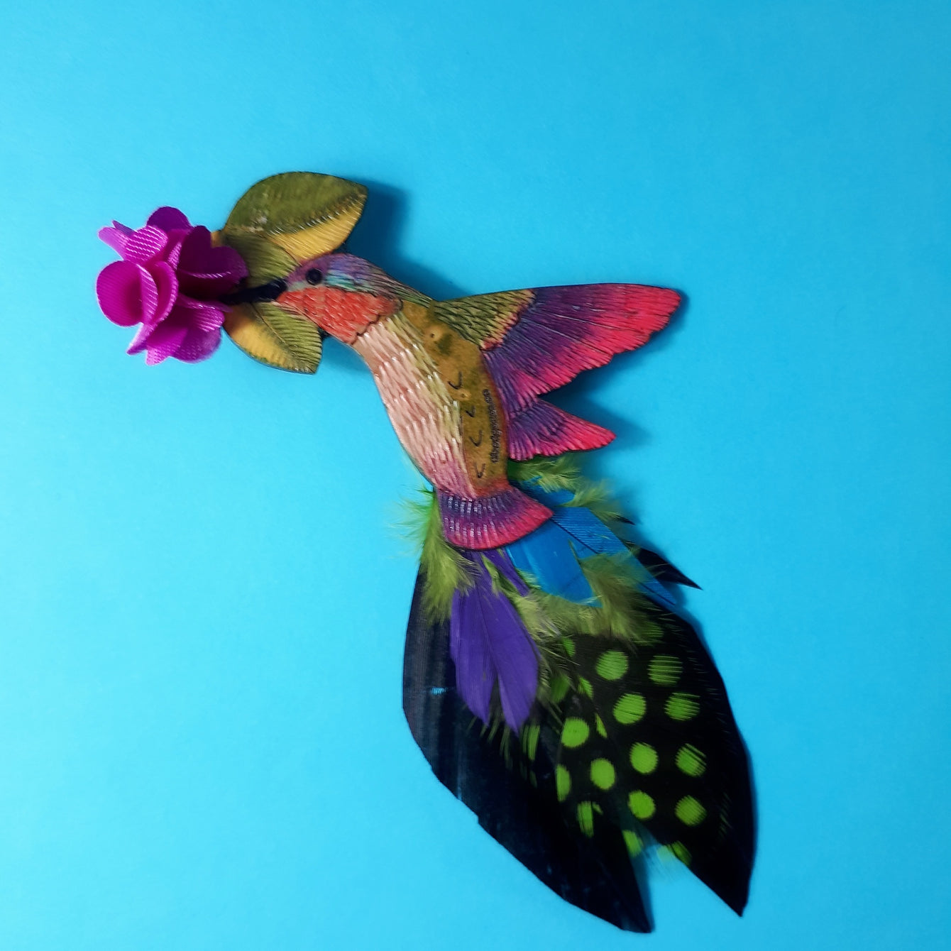 Hummingbird Brooch,