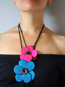 Margarita Tagua Necklace - Pink