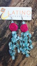 Blue Murrina Earrings