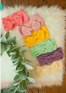 Brighter Days Headwrap Bow