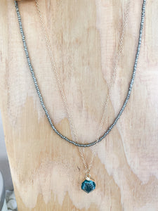Emerald Tide Necklace
