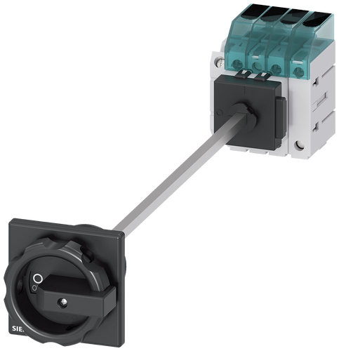 Load disconnector 3LD3, Iu 63 A Main switch 3-pole + N Rated- 3LD3448-1TL51