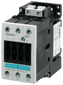 Power contactor, AC-3 40 A, 18.5 kW / 400 V 480 V AC, 60 Hz, 3-pole,- 3RT1035-1AV60
