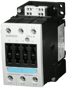 Power contactor, AC-3 50 A, 22 kW / 400 V 42 V AC, 50 Hz, 3-pole,- 3RT1036-3AD00