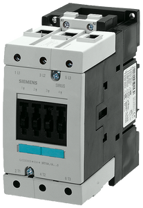 Power contactor, AC-3 80 A, 37 kW / 400 V 480 V AC, 60 Hz 3-pole,- 3RT1045-1AV60