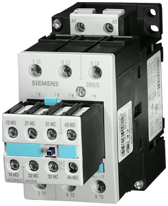 Power contactor, AC-3 40 A, 18.5 kW / 400 V 400 V AC, 50 Hz, 2 NO + 2- 3RT1035-1AV04