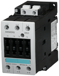 Power contactor, AC-3 40 A, 18.5 kW / 400 V 110 V DC, 3-pole, Size- 3RT1035-1BF40