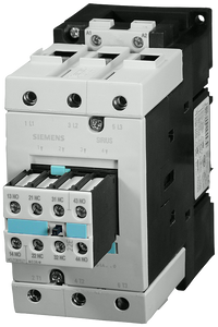 Power contactor, AC-3 95 A, 45 kW / 400 V 24 V AC, 50 Hz, 2 NO + 2 NC- 3RT1046-1AB04