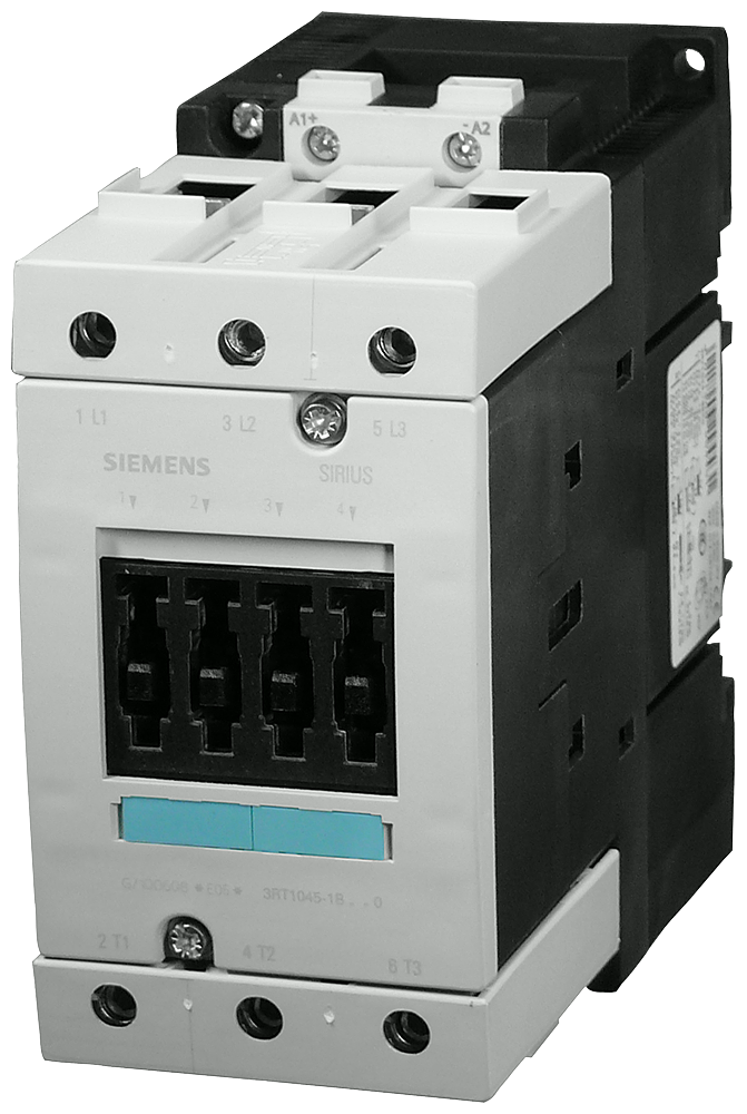 Power contactor, AC-3 95 A, 45 kW / 400 V 220 V DC, 3-pole, Size S3- 3RT1046-1BM40