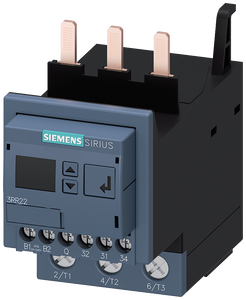 Monitoring relay attachable to contactor 3RT2, screw terminal- 3RR2243-1FW30