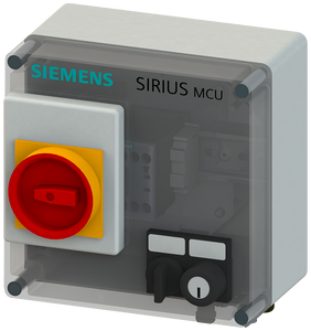 SIRIUS MCU motor starter enclosure - degree of protection IP55- 3RK4353-3PR58-0BA0