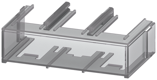 Terminal cover for busbar between contactors S10/S12- 3RT1966-4EA3