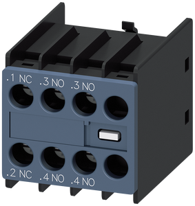 Auxiliary switch block 2 NO + 1 NC current paths: 1 NC, 1 NO for- 3RH2911-1HA21