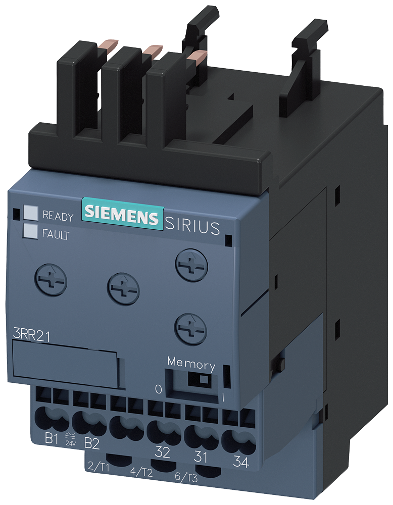 Monitoring relay, can be mounted onto 3RT2 contactor, size S00 basic,- 3RR2141-2AA30