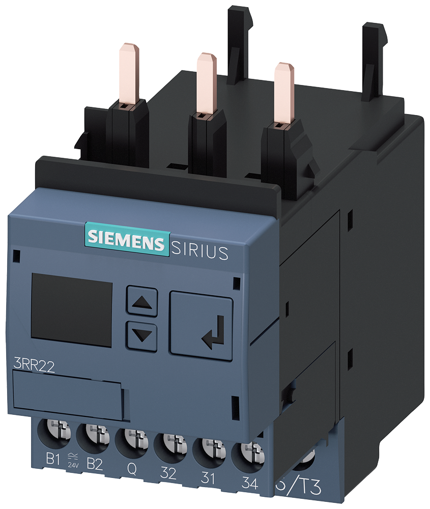 Monitoring relay, can be mounted onto 3RT2 contactor, size S00- 3RR2242-1FA30
