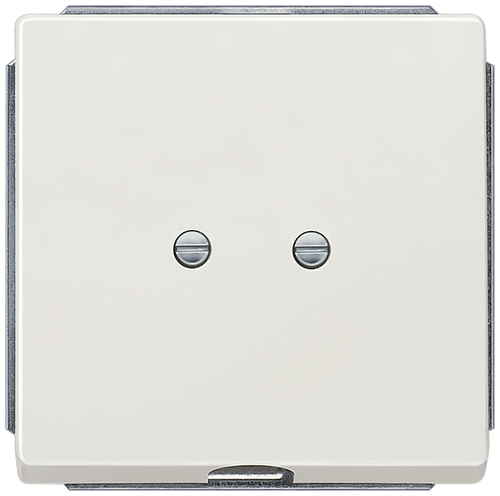 DELTA style, platinum metallic outlet cover, 68x 68 mm- 5TG1335-1