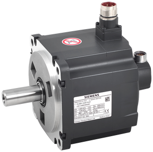 SIMOTICS S-1FL6 Operating voltage 3AC 400 V Pn=0.75 kW  Nn=2000 rpm M0=4 Nm  MN=3.58 Nm Shaft height 65 mm Absolute encoder 20 bit 12-bit multi-turn w motor - 1FL6061-1AC61-0LB1