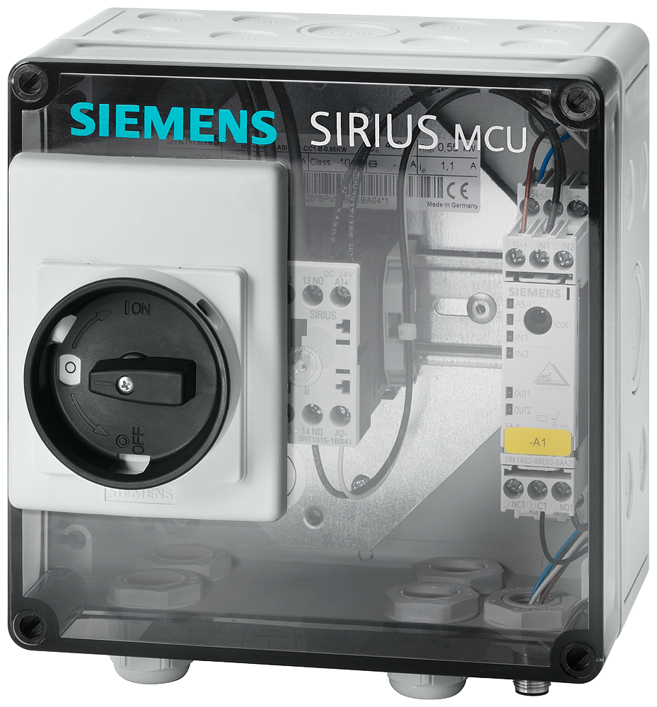 SIRIUS MCU motor starter Enclosure degree of protection IP55- 3RK4320-3AR51-0BA0