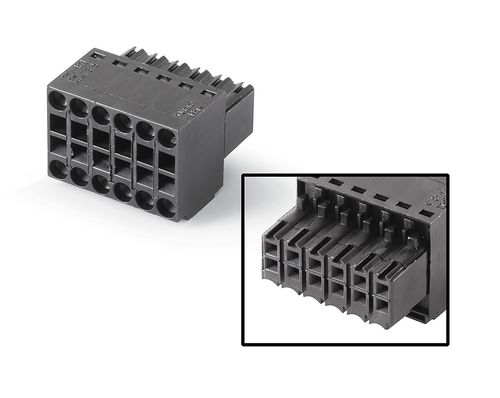 12-pin connector, female 12-pin connector, female 180°, max.:- 6AV6671-3XY38-4AX0