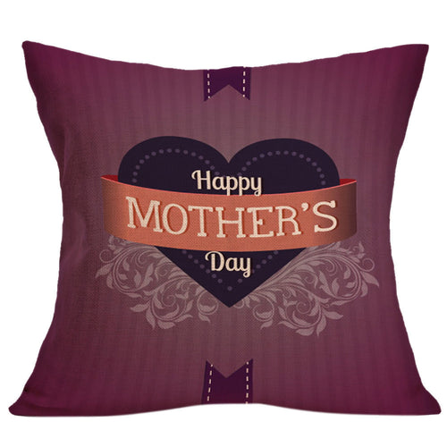 Happy Mother's Day Sofa Bed Home Decoration Festival Pillow Case Cushion Cover - Unique Craft World & Dist