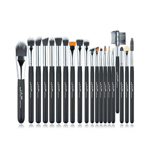 JAF Brand 20 pcs/set Makeup Brush Professional Foundation Eye Shadow Blending Cosmetics Make-up Tool 100% Vegan Synthetic Taklon - Unique Craft World & Dist