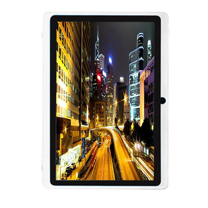 New 7Inch Google Android 4.4 Quad Core Tablet PC 8GB Dual Camera Wifi Bluetoot 18Mar21 Drop Ship F