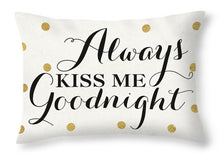 Load image into Gallery viewer, Love Words Black II Throw Pillow - Unique Craft World & Dist