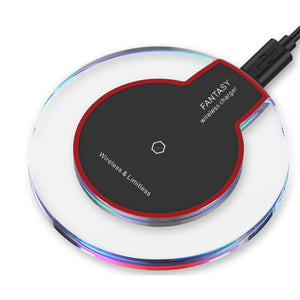 powstro C1 Wireless Charger Qi Standard Charging Pad Super Thin Fast Charge for SAMSUNG S6 S6 Edge Plus S7 Note 5