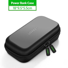 Load image into Gallery viewer, Ugreen Power Bank Case Hard Case Box for 2.5 Hard Drive Disk USB Cable External Storage Carrying SSD HDD Case