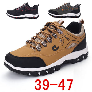 HEE GRAND New Autumn Men Mesh Shoes Breathable Soft Network Lace Up Flats Man Casual Light Shoes For Outdoor climbing XMR3036 - Unique Craft World & Dist
