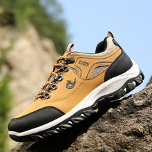 Load image into Gallery viewer, HEE GRAND New Autumn Men Mesh Shoes Breathable Soft Network Lace Up Flats Man Casual Light Shoes For Outdoor climbing XMR3036 - Unique Craft World & Dist