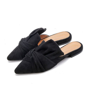 HEE GRAND Women's Flats Soft Flock Shoes Casual Slip-on Flat With Pionted Toe Flats Spring And Autumn Korean Styles XWD7569 - Unique Craft World & Dist