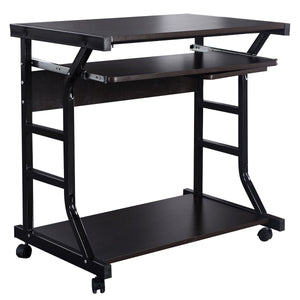 Home Office Workstation Rolling Computer Desk - Unique Craft World & Dist