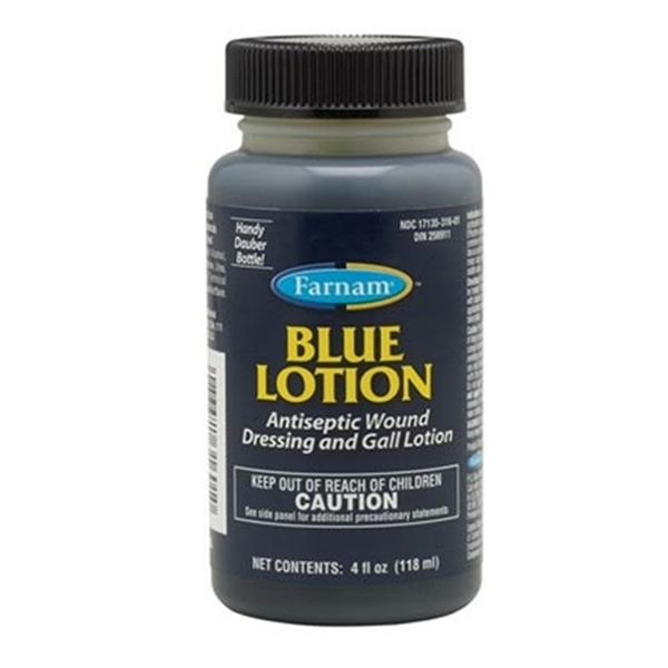 BLUE LOTION 4OZ.
