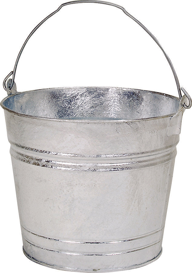 WATER PAIL GALVANIZED 12 QT
