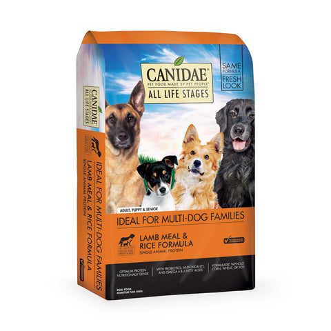 CANIDAE Lamb Rice Dog       30