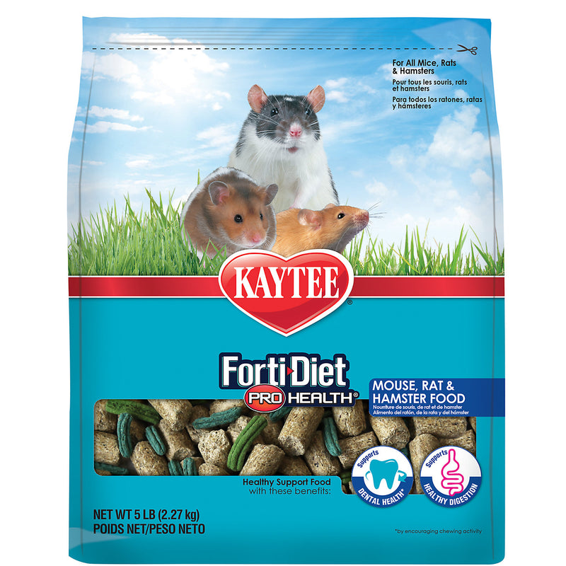 FORTIDIET MOUSE & RAT PH 5LB