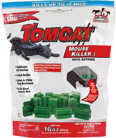 TOMCAT MOUSE KILLER REFILLABLE
