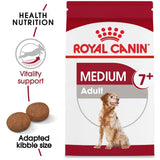 Royal Canin Size Health Nutrition Medium Adult 7+ Dry Dog Food