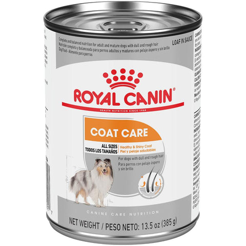 Royal Canin Coat Care Loaf in Sauce Canned Dog Food