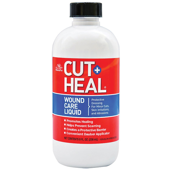 MANNA PRO CUT HEAL PLUS WOUND CARE LIQUID 8 OZ