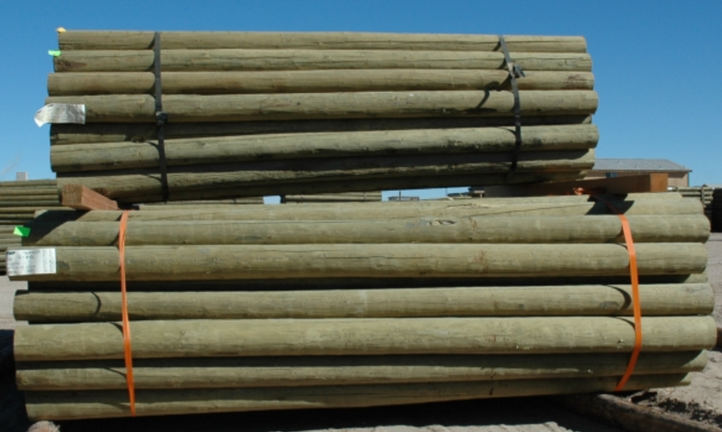 LODGE POLES NEW 5-6 X 10'