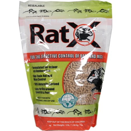 RATX RODENTICIDE 3# bag ECOCLE