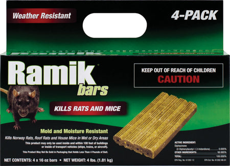 RAMIK NUGGET BARS 4# 116334 4X